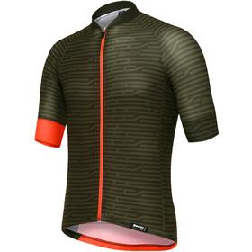 Santini Soffio Maillot de cyclisme à manches courtes Homme, verde